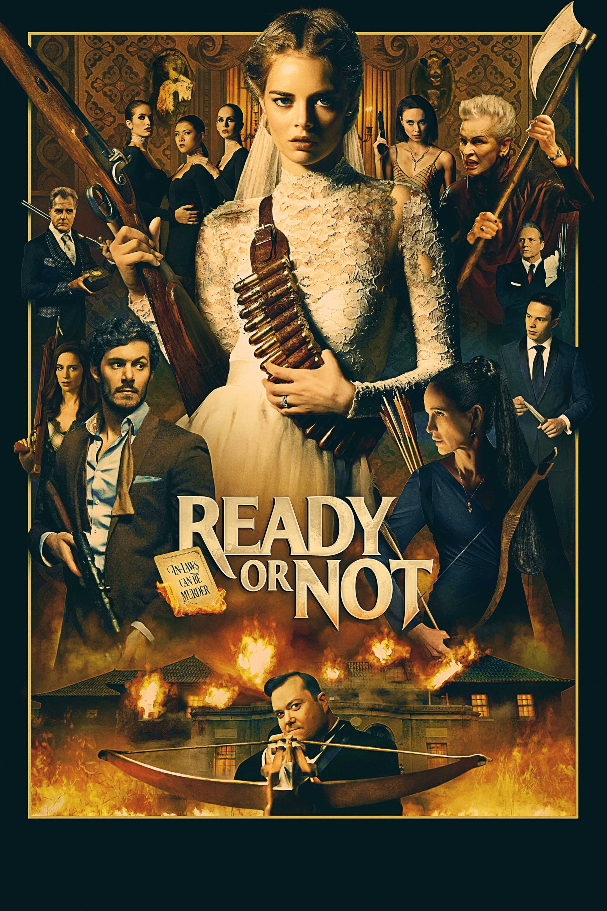 Poster and image movie Film Ready or Not 2019