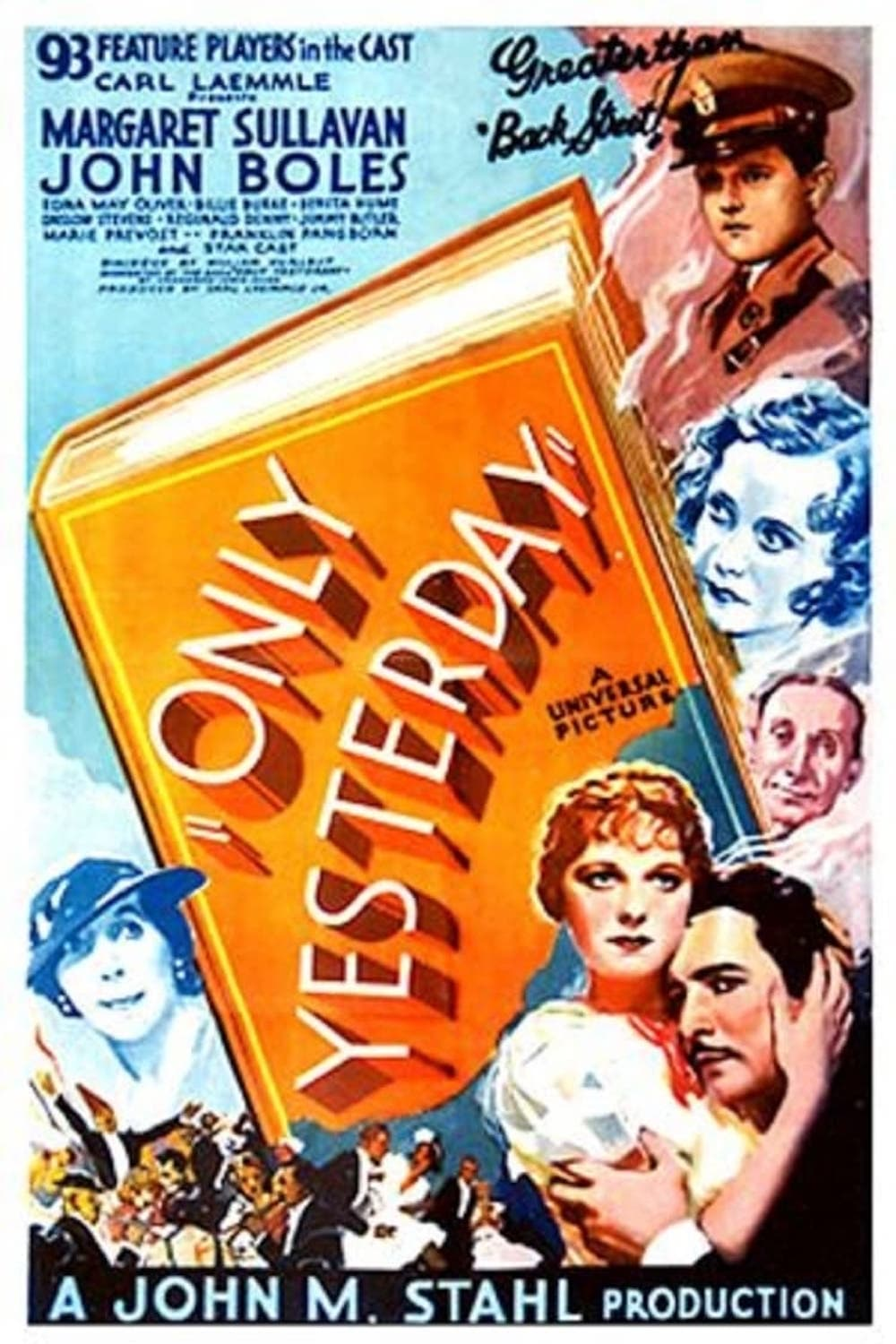 Only Yesterday (1933)