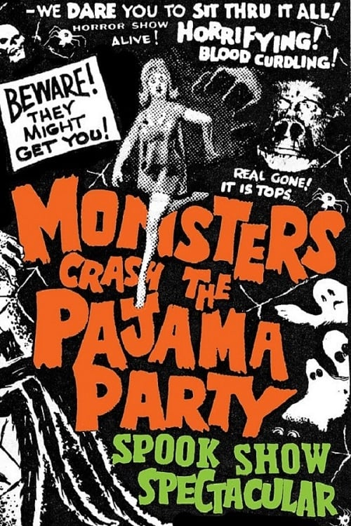 Monsters Crash the Pajama Party on FREECABLE TV