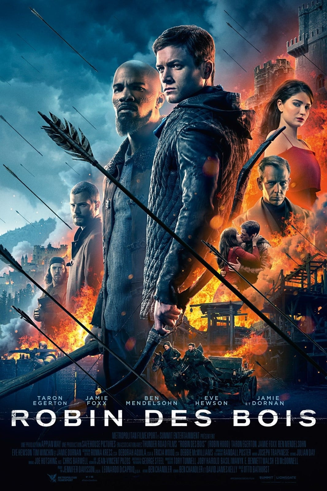 Poster and image movie Film Robin Hood 2018