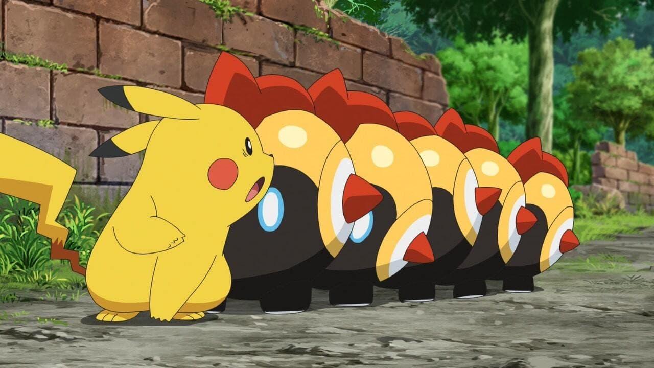 Pokémon Season 24 :Episode 25  Commander Pikachu! Head Forth, Tairetsu!!