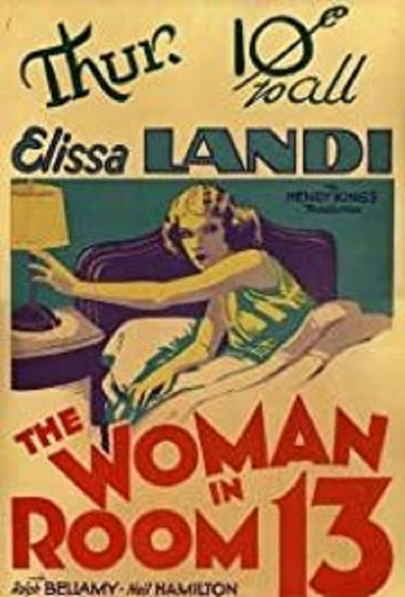 The Woman in Room 13 (1932)