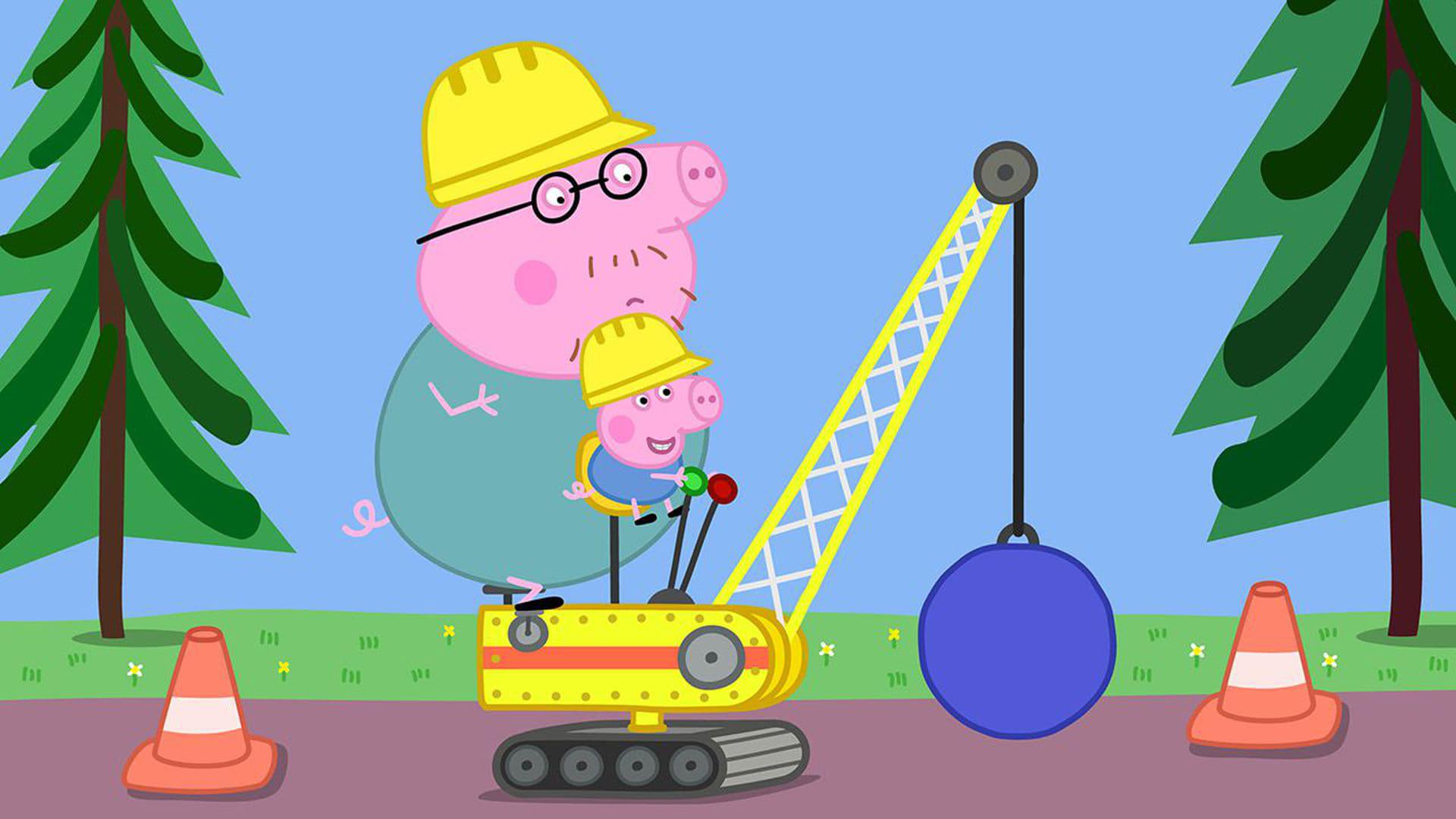 Peppa Pig Season 5 :Episode 25  Digger World