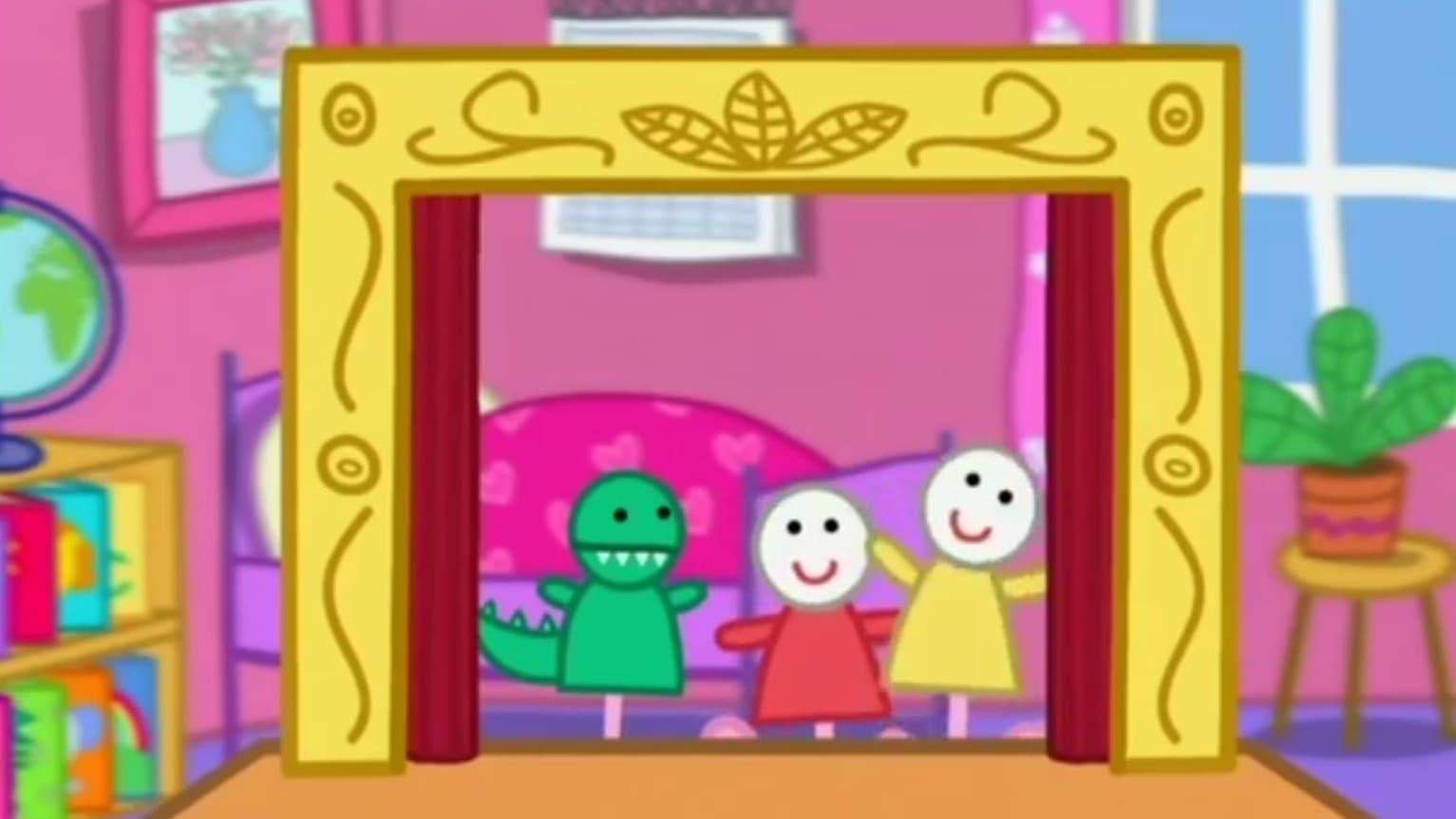 Peppa Pig Season 1 :Episode 41  Chloe's Puppet Show