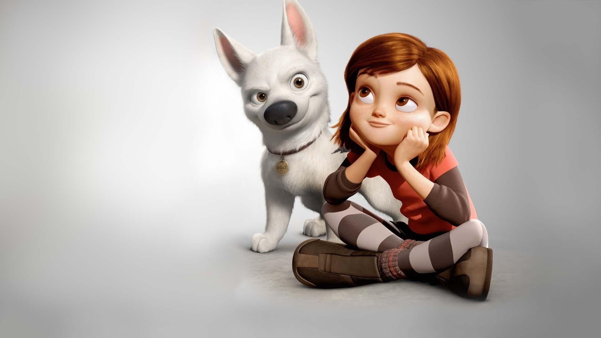 Filmszene aus Bolt - Ein Hund für alle Fälle