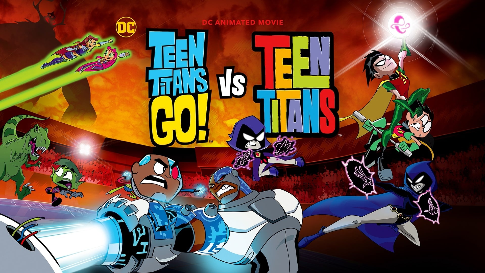 Jovenes Titanes en Accion vs Jovenes Titanes