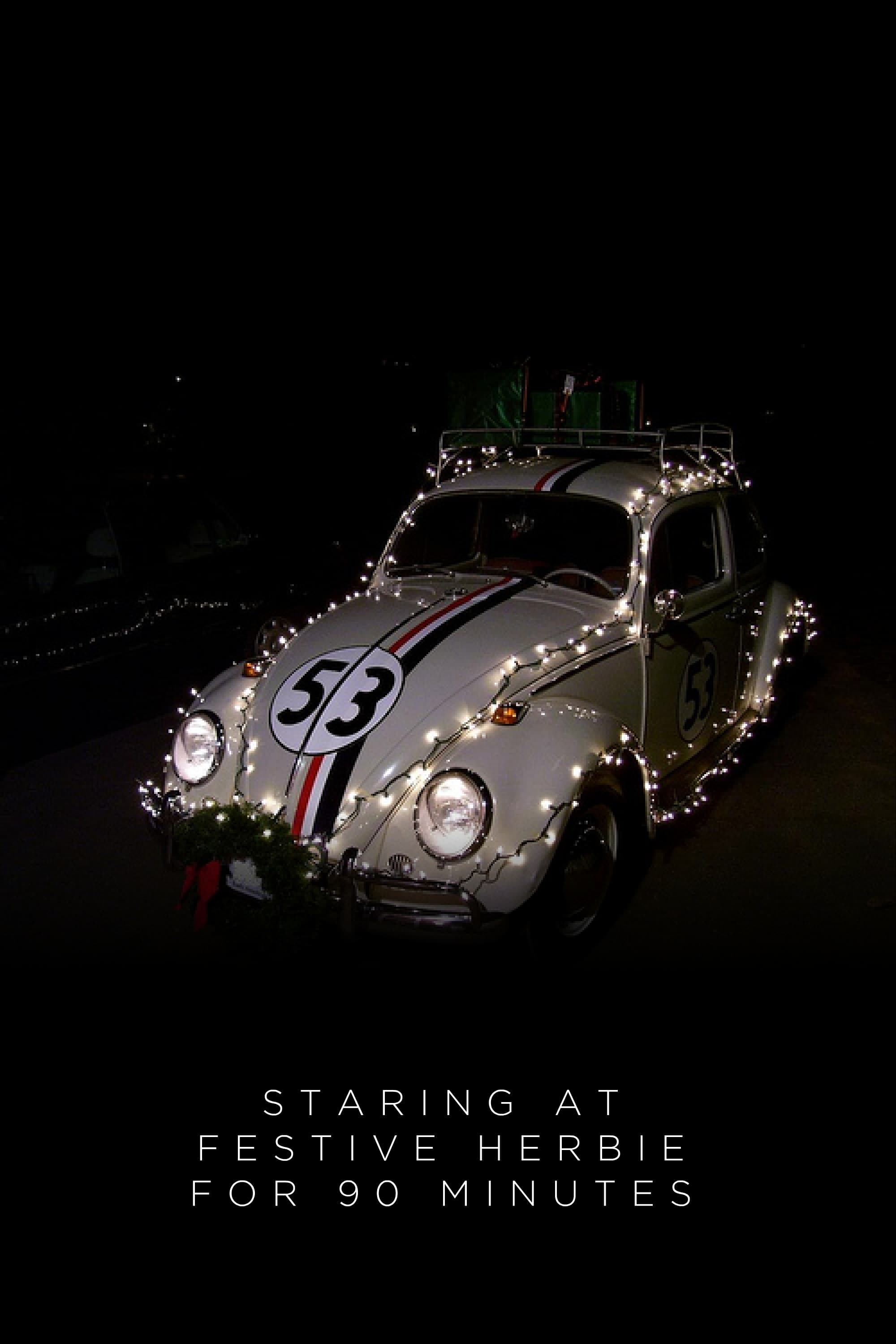 Ver Staring at Festive Herbie for 90 Minutes Online HD Español (2018)