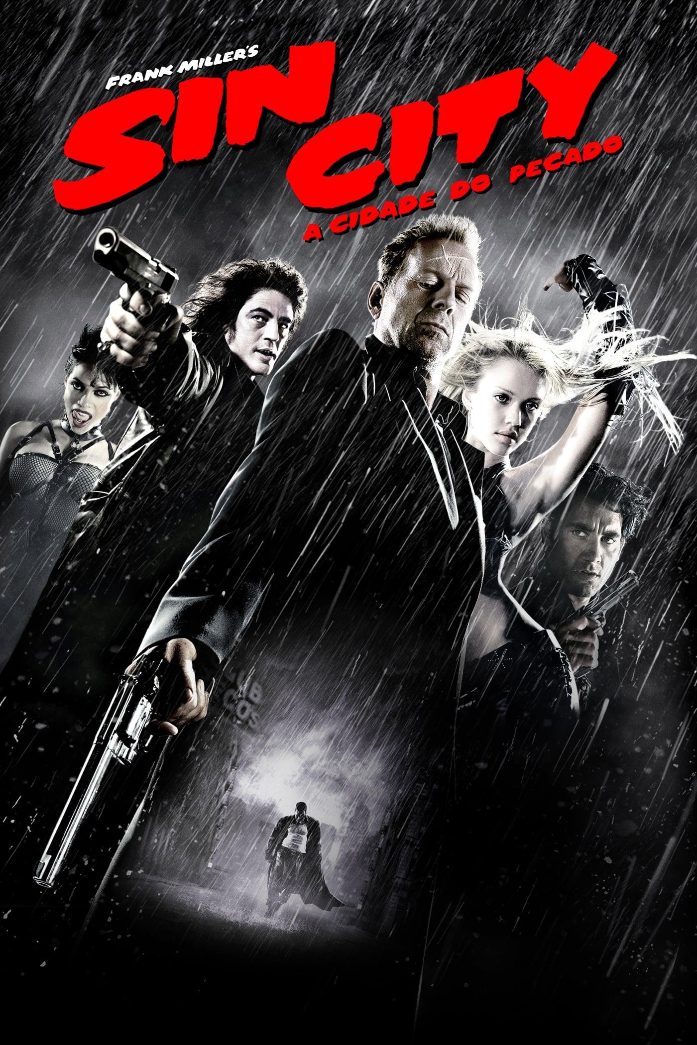 capa Sin City: A Cidade do Pecado
