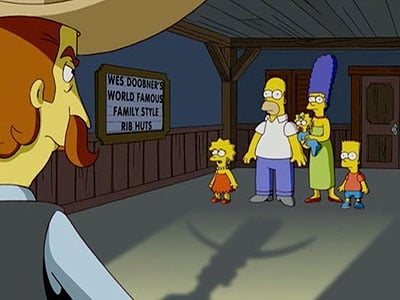 The Simpsons - Season 19 Episode 8 : Funeral for a Fiend