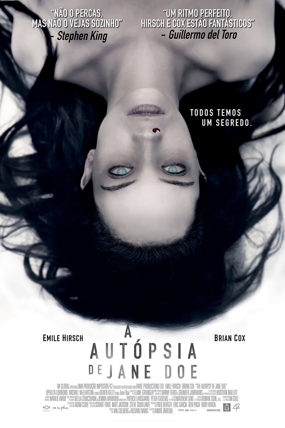 Poster and image movie Film Autopsia femeii necunoscute - The Autopsy of Jane Doe - The Autopsy of Jane Doe -  2016