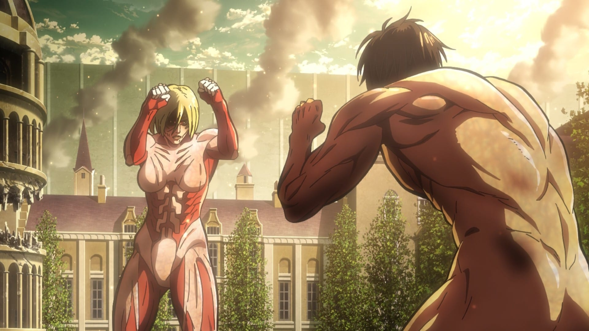 Attack on Titan Season 1 :Episode 25  Wall: Assault on Stohess, Part 3
