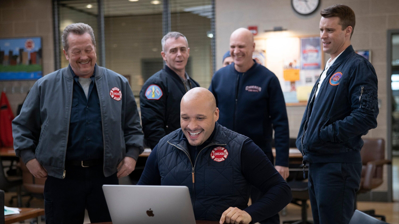 Chicago Fire Season 8 :Episode 18  I'll Cover You