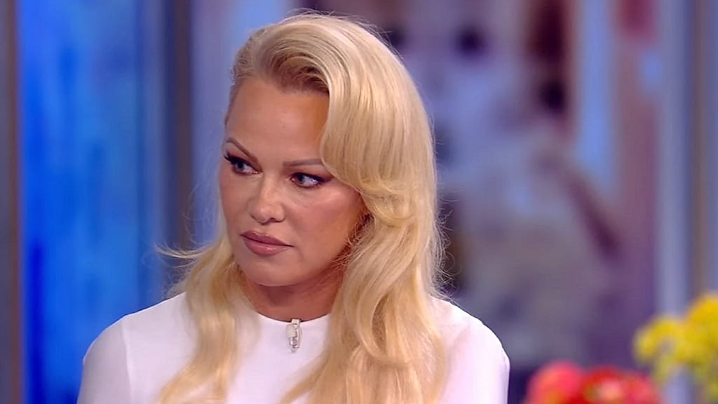 The View Season 23 :Episode 4  Pamela Anderson