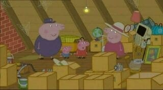 Peppa Pig Season 2 :Episode 23  Granny & Grandpa's Attic