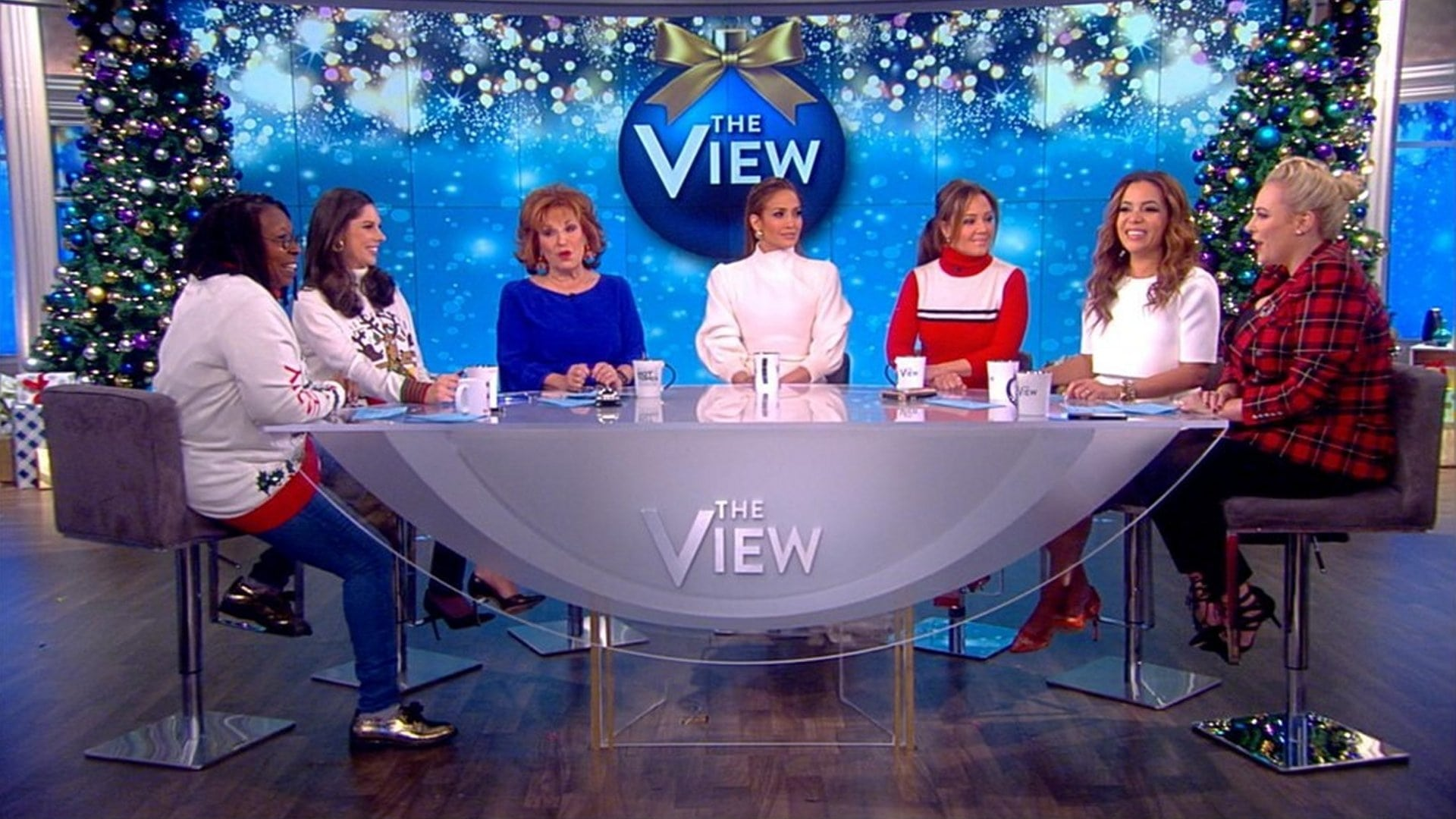 The View Season 22 :Episode 68  Jennifer Lopez and Leah Remini