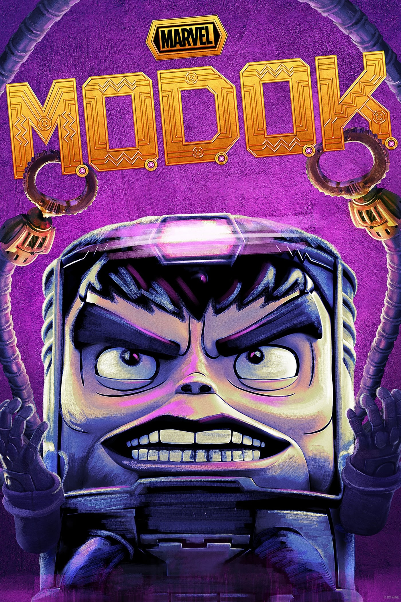 Marvel's M.O.D.O.K. TV Shows About Based On Comic