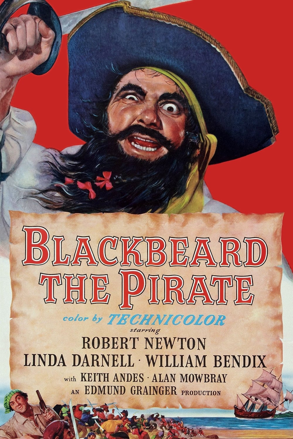 Blackbeard, the Pirate (1952)
