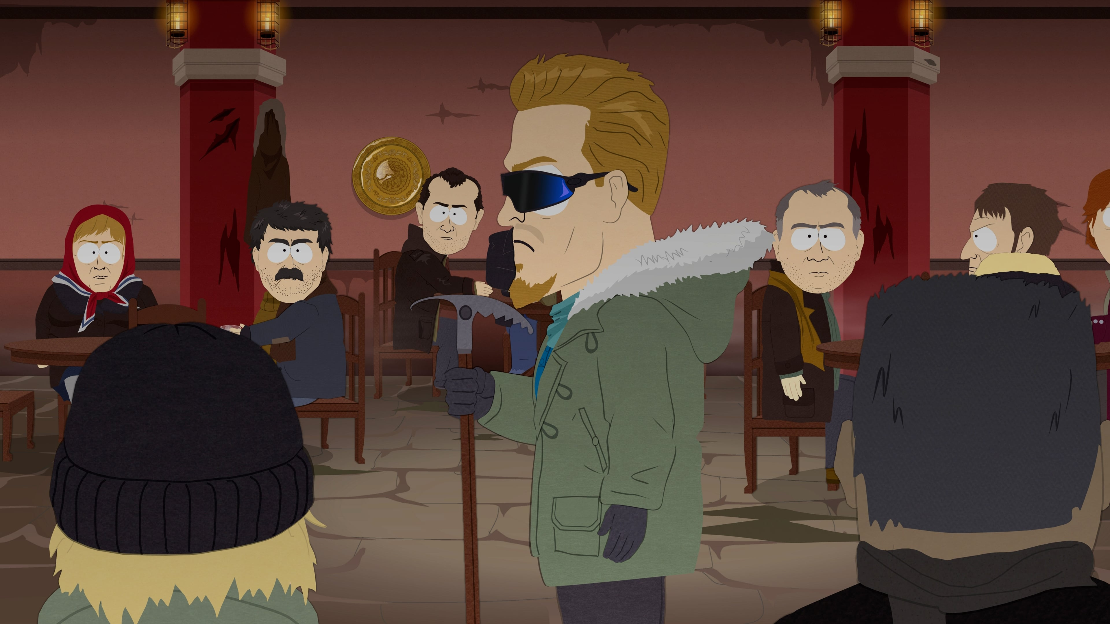 South Park Season 19 :Episode 10  PC Principal Final Justice