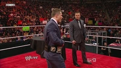 WWE Raw Season 19 :Episode 12  Episode #929