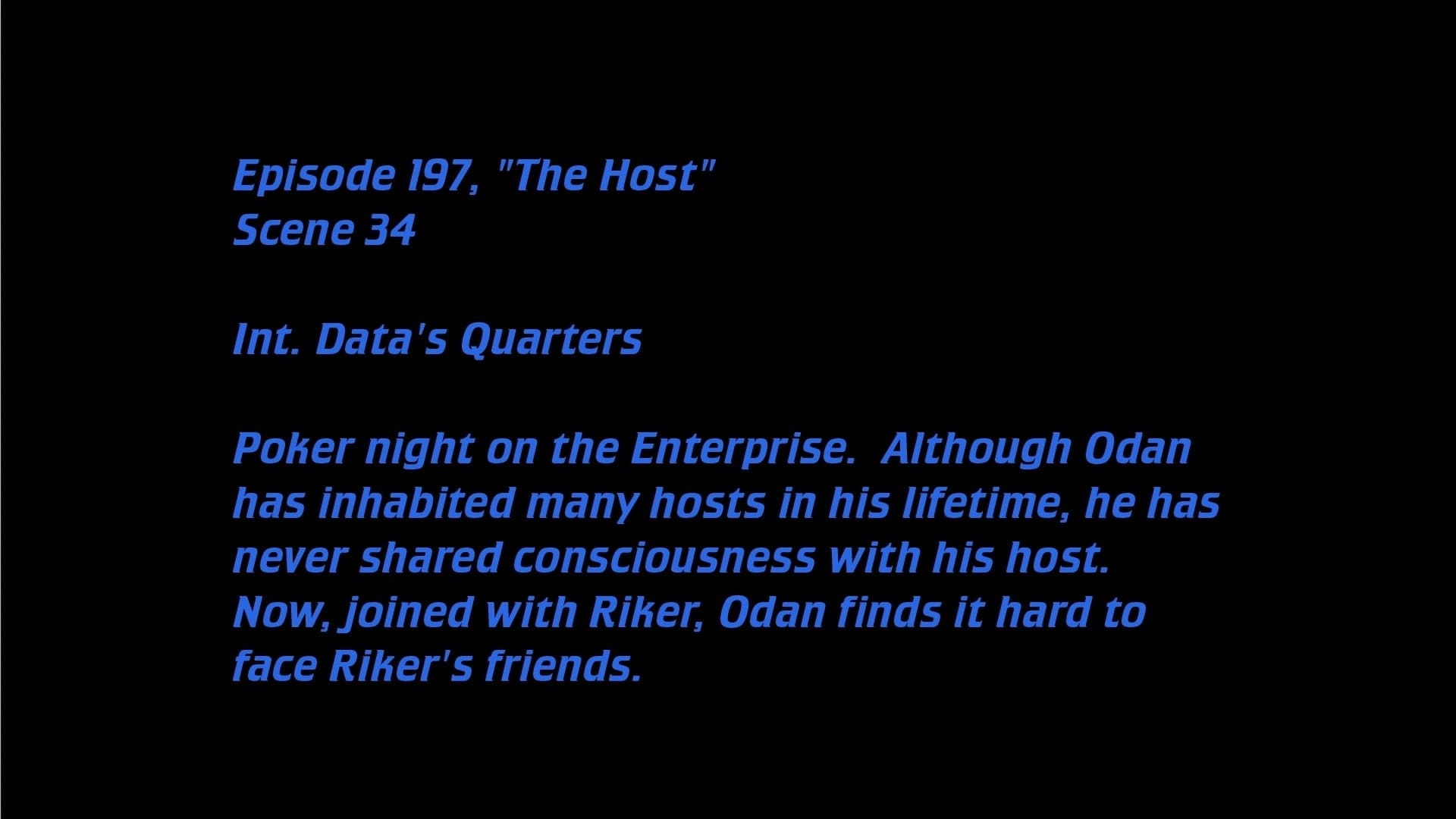 Deleted Scenes: S04E23 - The Host-Azwaad Movie Database