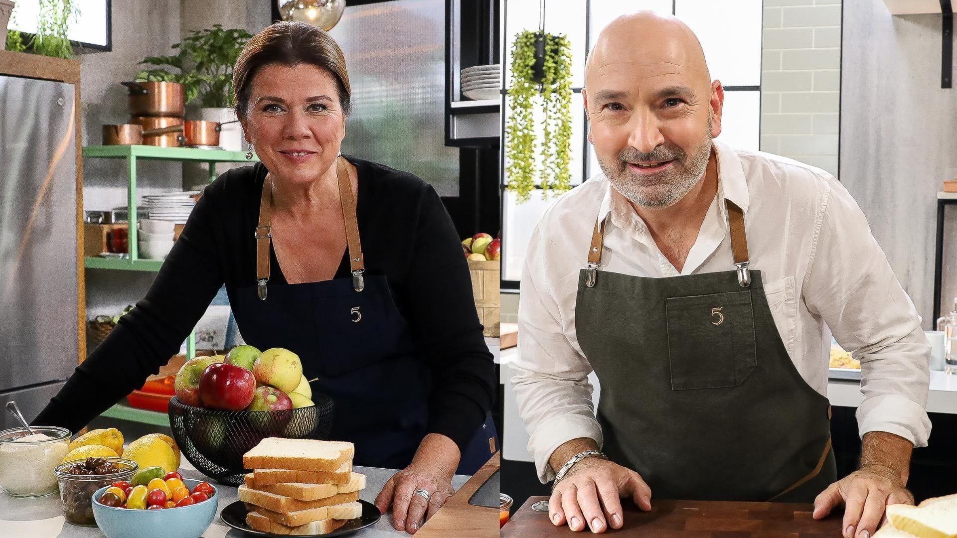 5 chefs dans ma cuisine Season 1 :Episode 27  Episode 27