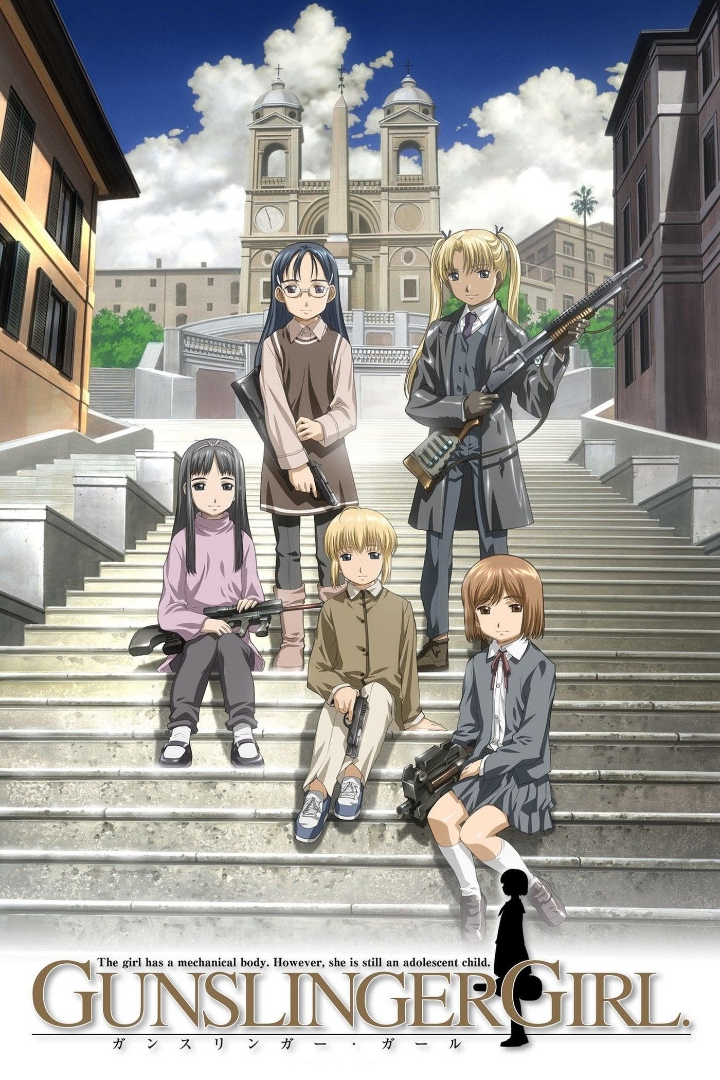 Nonton anime Gunslinger Girl Sub Indo