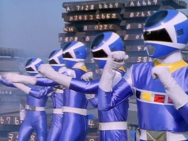 Super Sentai Season 21 :Episode 41  Snapped! The Blue Terror NejiBlue