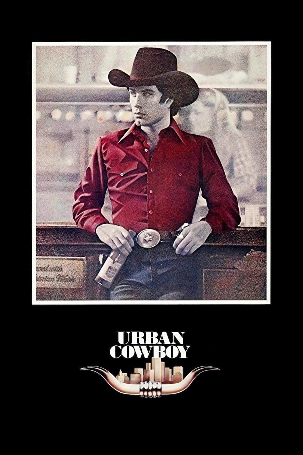 Póster Cowboy de ciudad