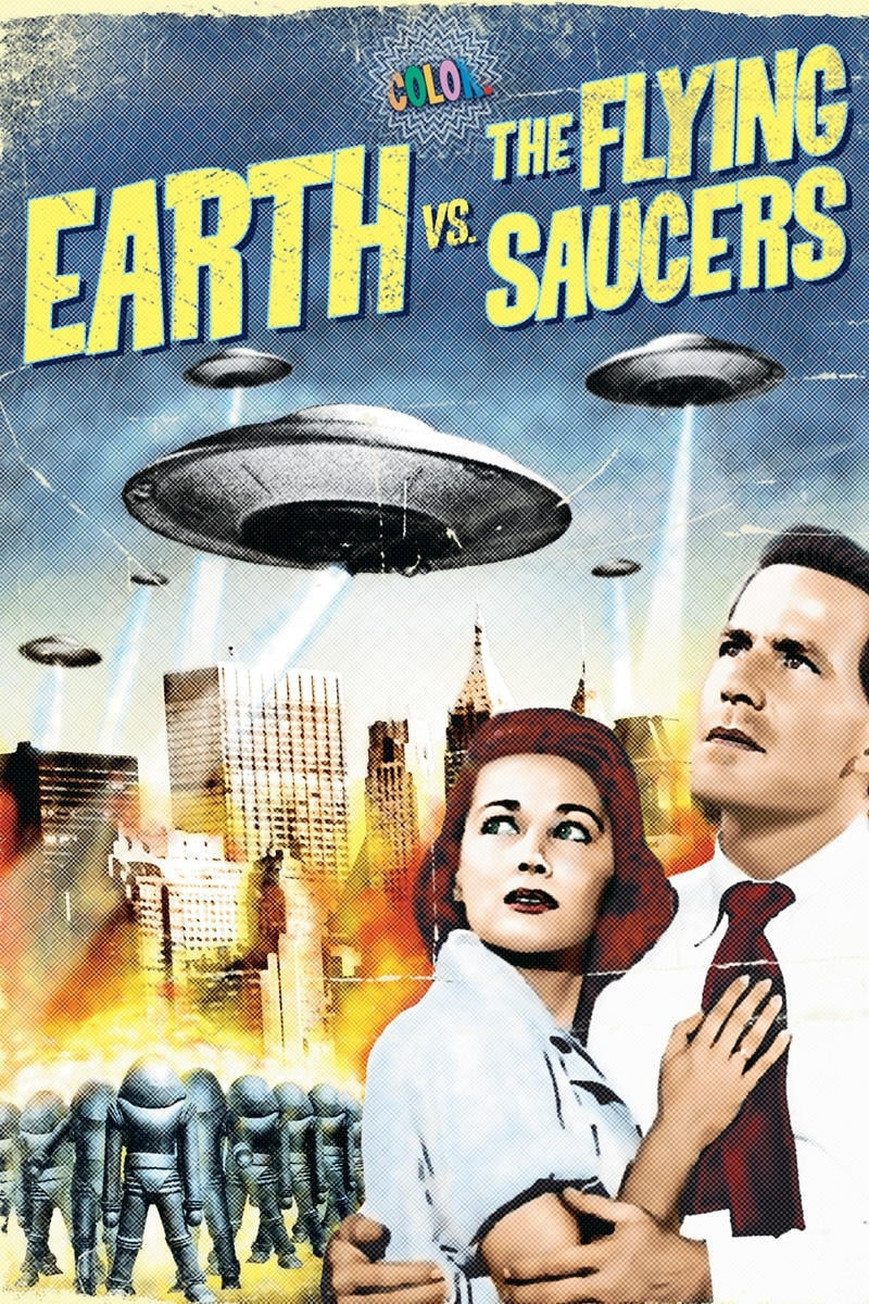Earth vs. the Flying Saucers (1956) - Posters — The Movie ...
