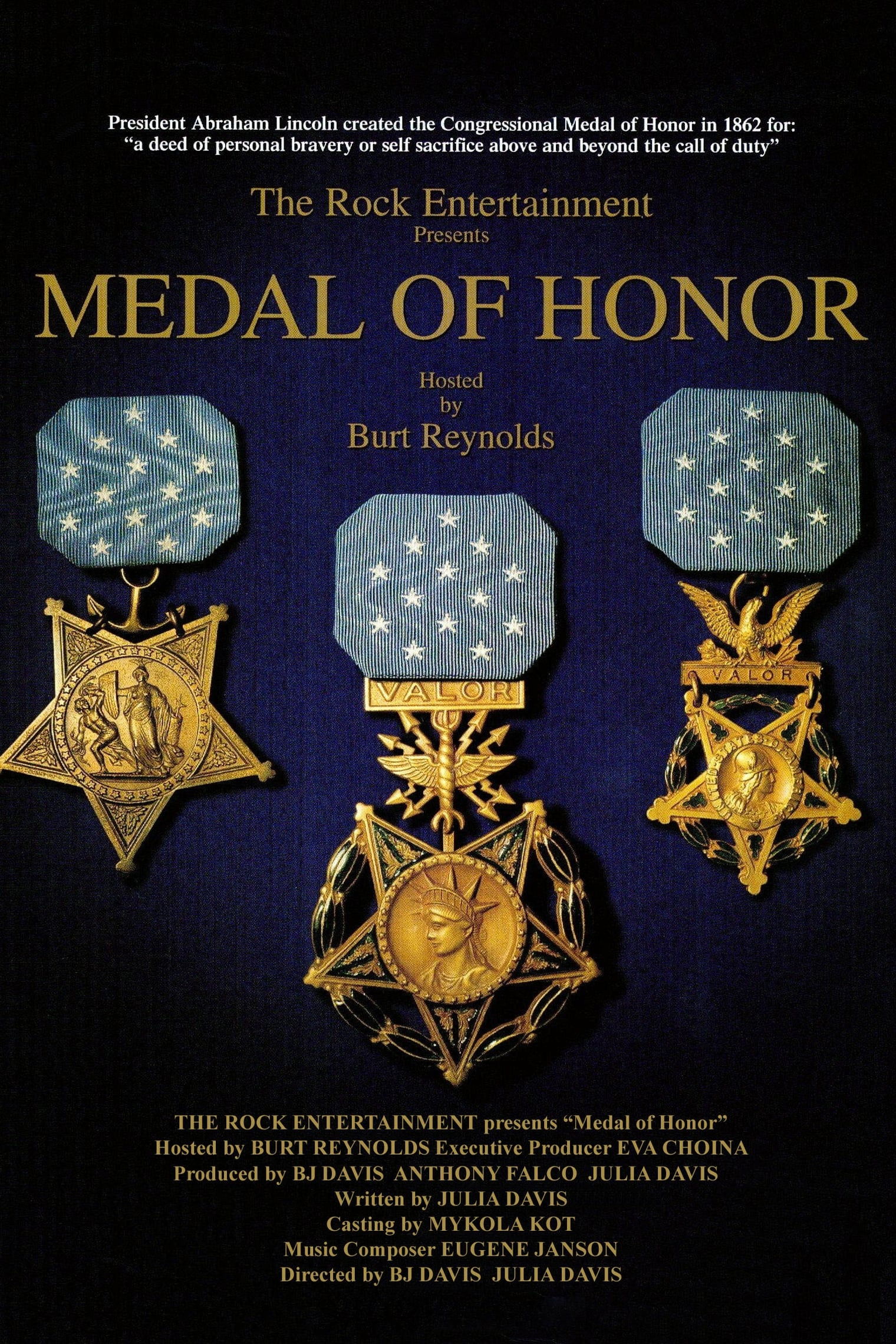 Medal of Honor TV Shows About Us Army