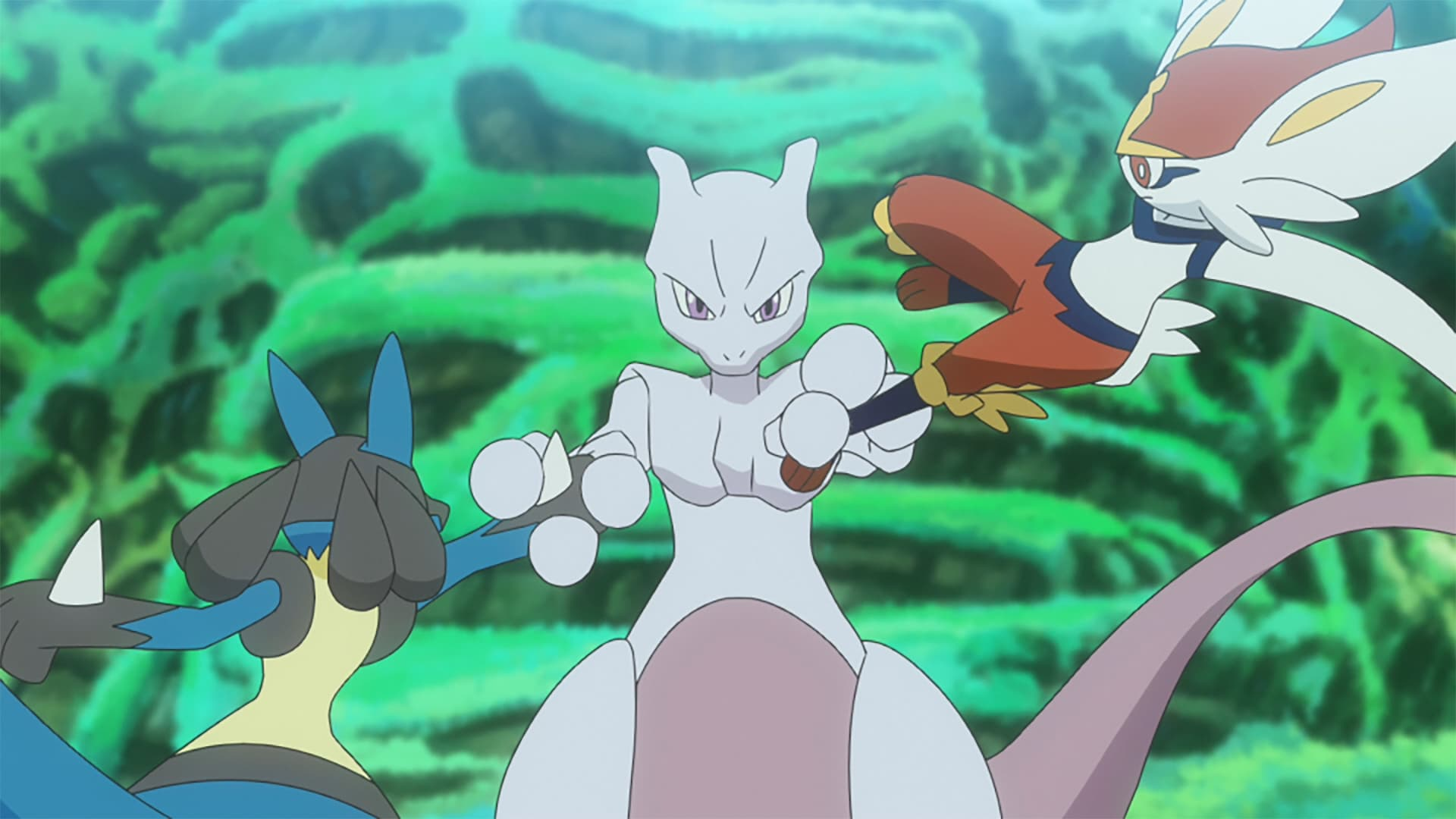Pokémon Season 23 :Episode 46  Battling and Getting! The Revival of Mewtwo