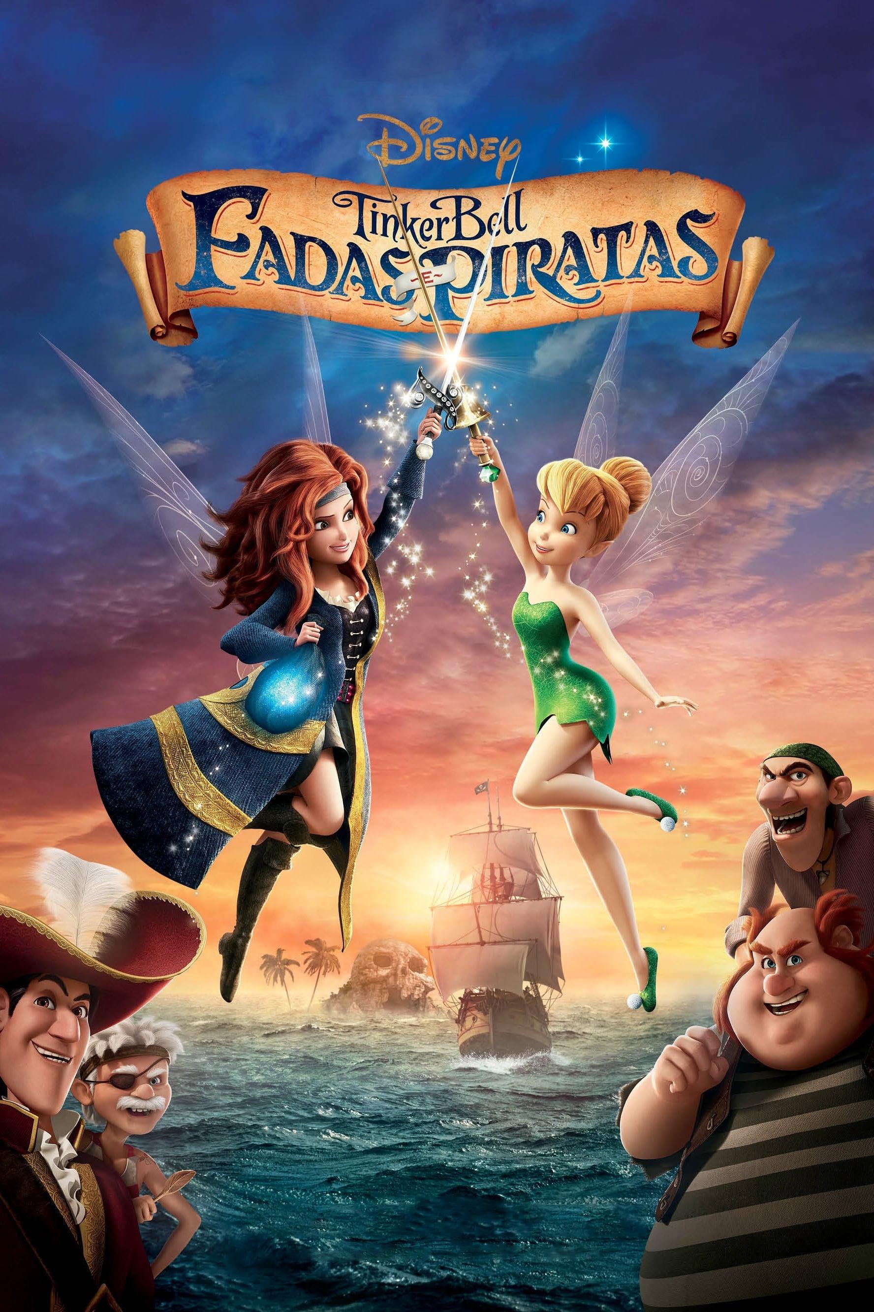Tinker Bell: Fadas e Piratas Dublado