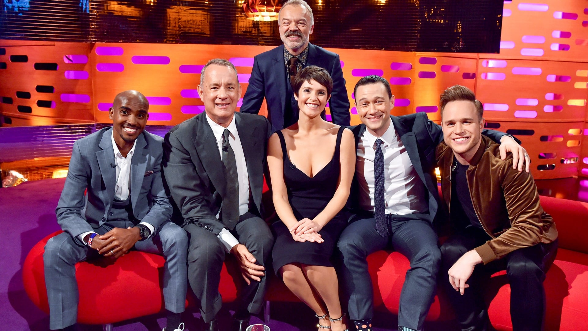 The Graham Norton Show Season 20 :Episode 8  Tom Hanks, Gemma Arterton, Joseph Gordon-Levitt, Mo Farah, Olly Murs