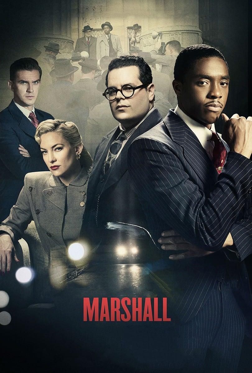 Poster and image movie Film Marshall - Marshall -  2017