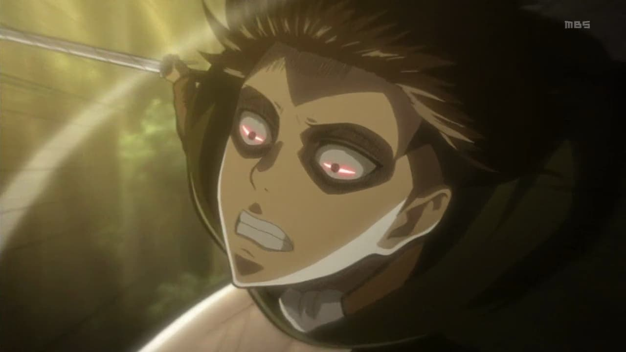 Attack on Titan Season 1 :Episode 22  The Defeated: The 57th Exterior Scouting Mission, Part 6