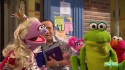 Sesame Street Season 42 :Episode 17  A Prince of a Frog