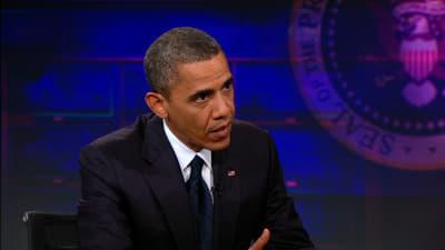 The Daily Show with Trevor Noah Season 18 :Episode 12  Barack Obama