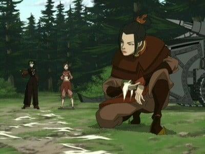 Avatar - Der Herr der Elemente Season 2 :Episode 8  Die Verfolgungsjagd