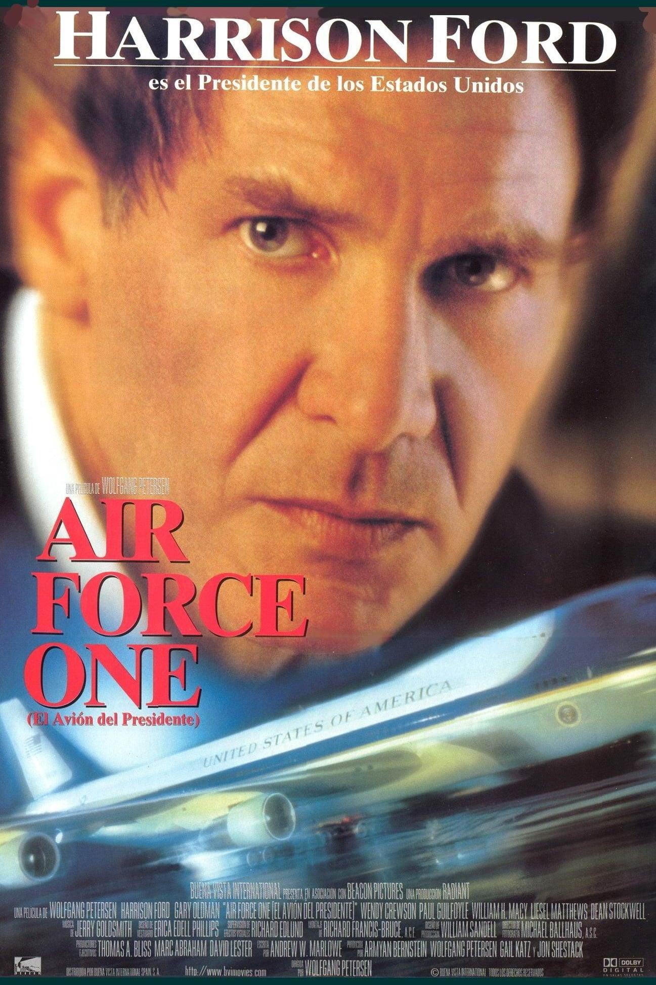 Póster Air Force One (El avi�n del presidente)