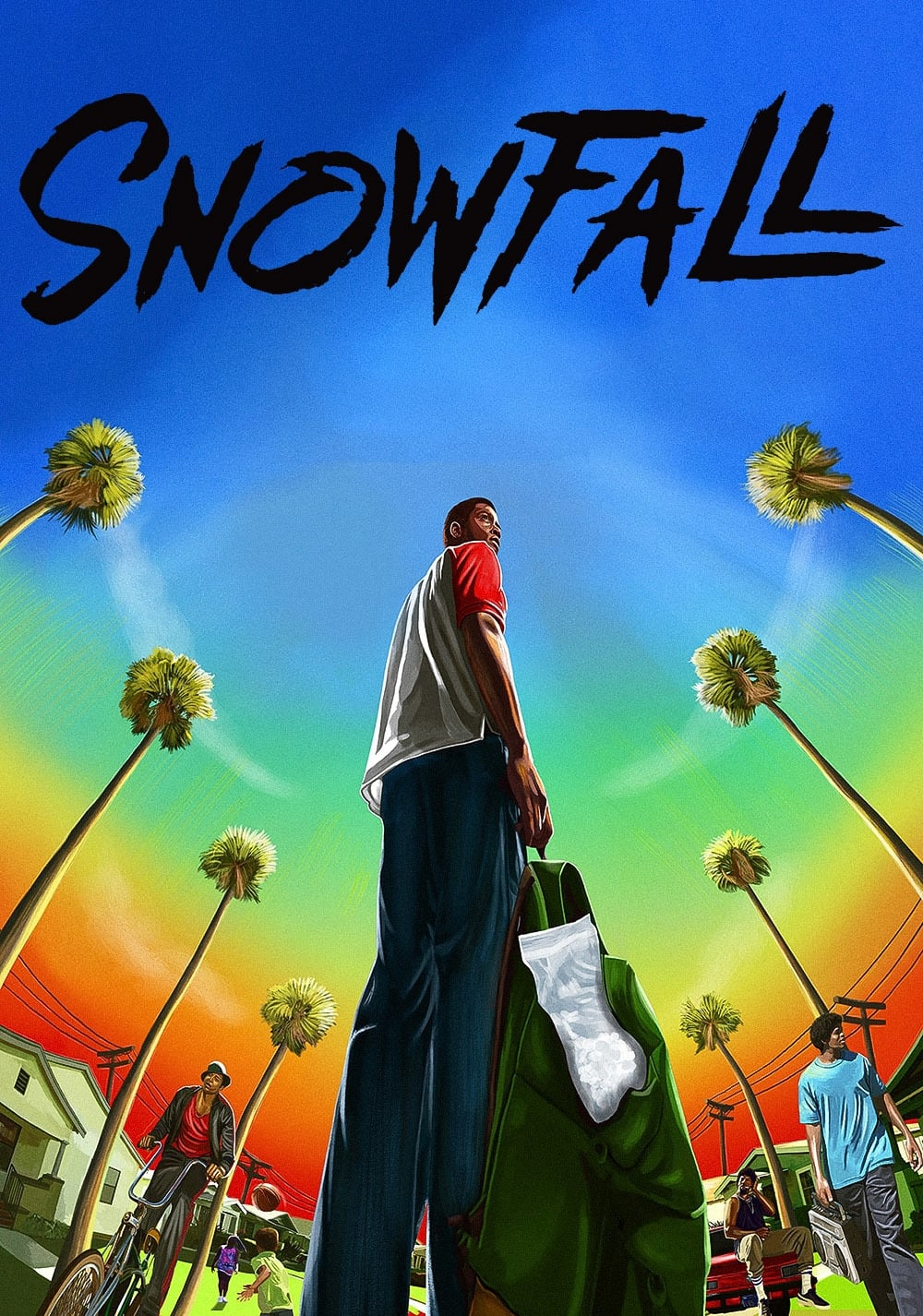 snowfall tv series 2017 posters � the movie database