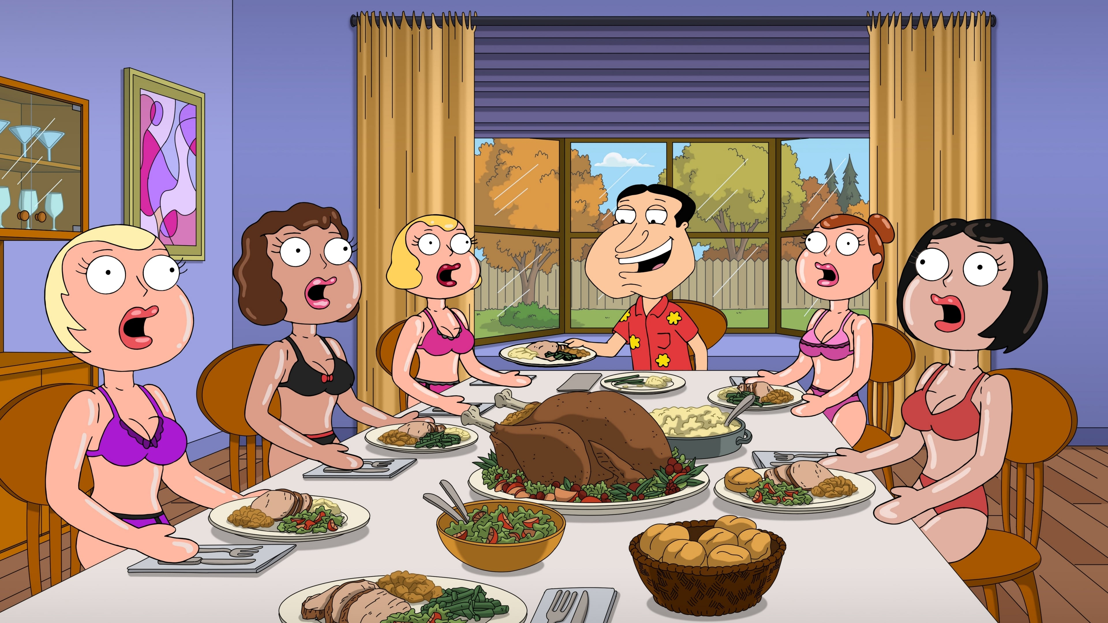 Family Guy Season 18 :Episode 8  Shanksgiving