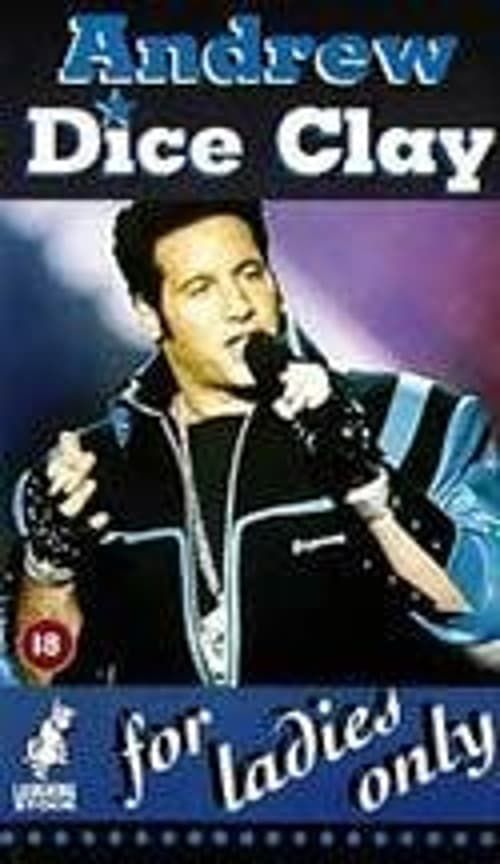 Ver Andrew Dice Clay: For Ladies Only Online HD Español (1992)