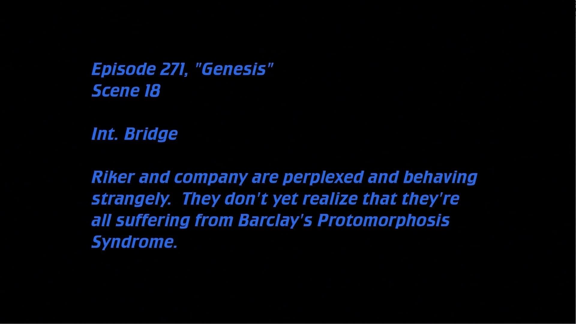 Deleted Scenes: S07E19 - Genesis-Azwaad Movie Database