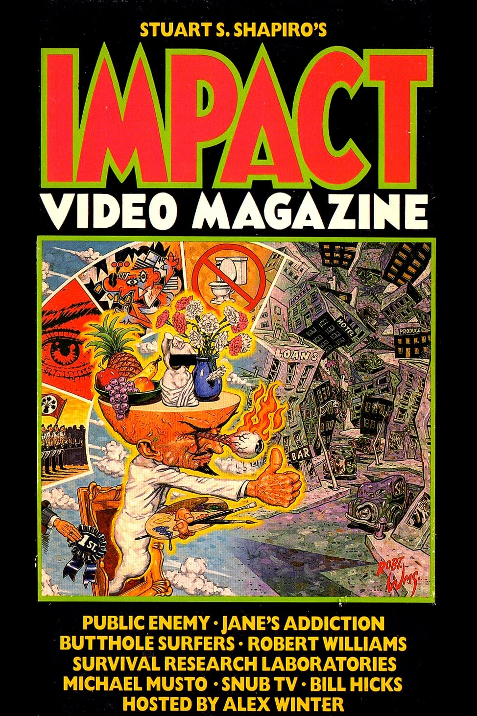 Ver Impact Video Magazine Online HD Español (1989)