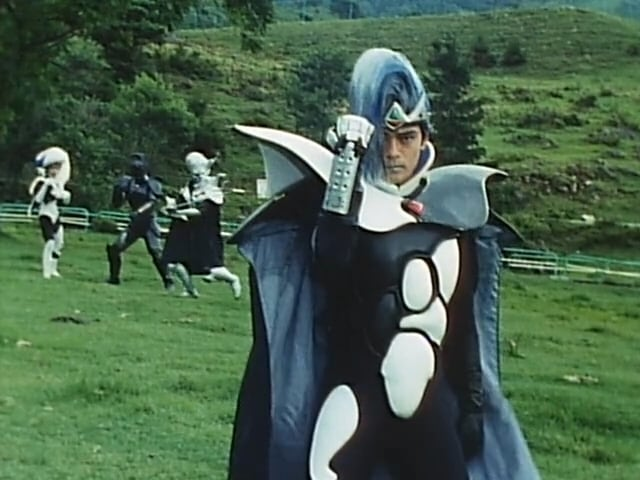 Super Sentai Season 15 :Episode 37  Birth! Emperor Tranza