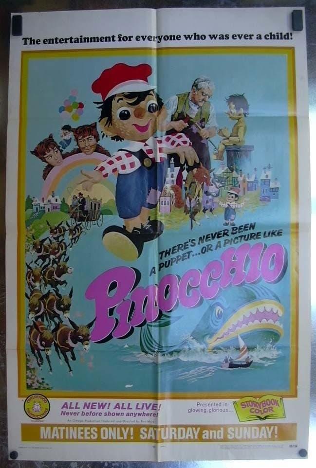 Ver Pinocchio Online HD Español (1968)