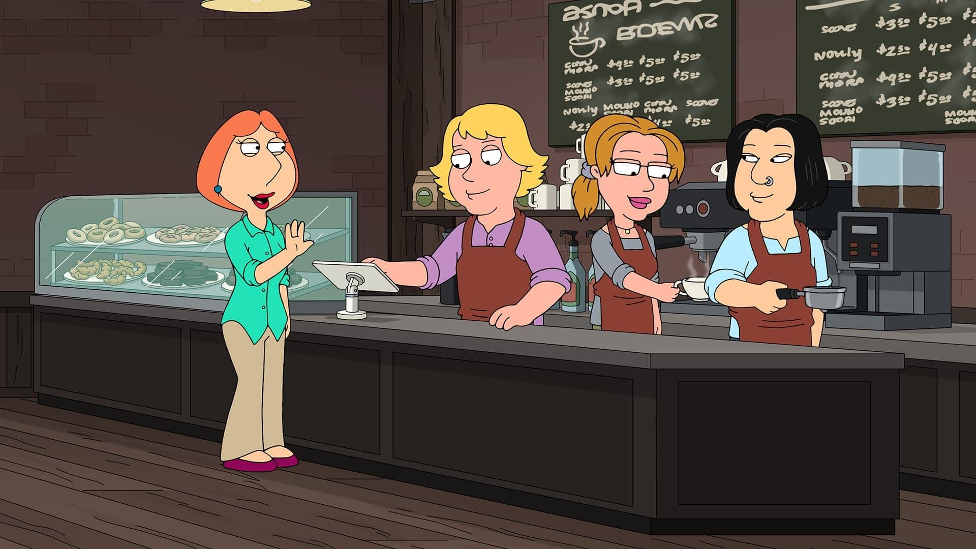 Family Guy Season 19 :Episode 15  Customer of the Week