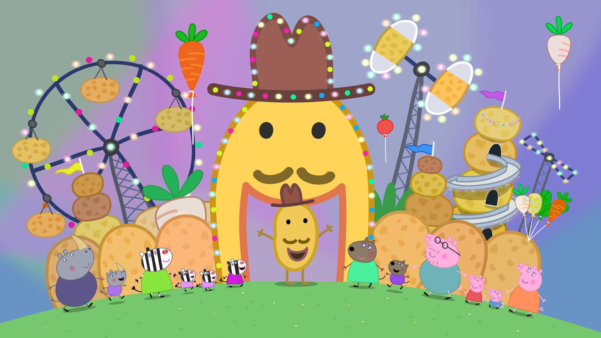 Peppa Pig Season 4 :Episode 1  Potato City