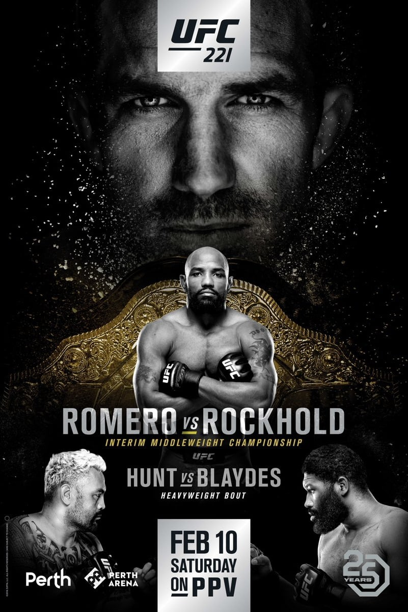 Ver UFC 221: Romero vs. Rockhold Online HD Español ()