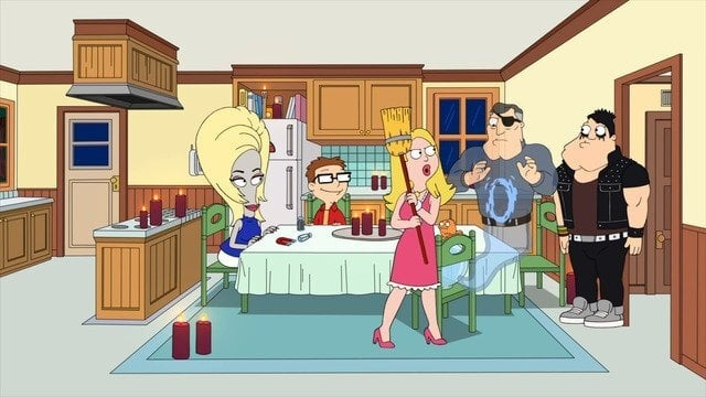 American Dad! Season 17 :Episode 14  Ghost Dad